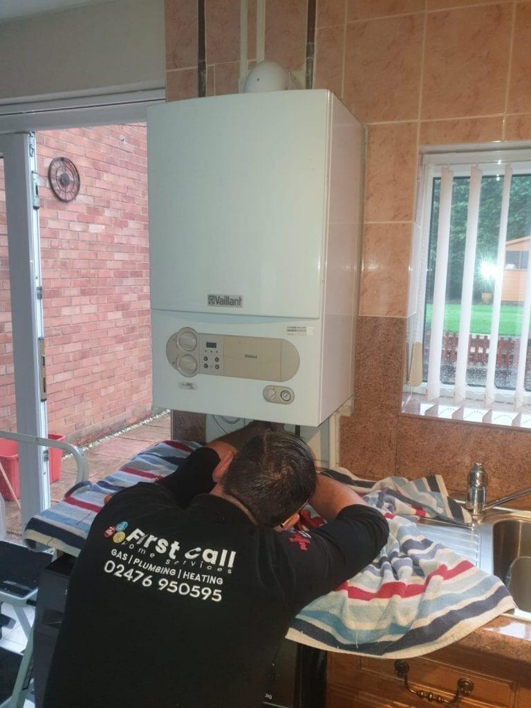 Repairing boiler that won't turn on