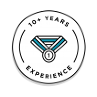 10+ Years Experience